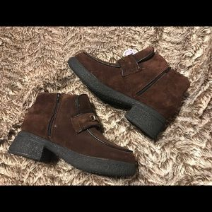Hush Puppies Girls Sz 5 Ankle Boots